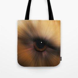 Eye of a Dog Tote Bag