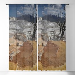 A Surreal Landcape With Dead Tree Blackout Curtain