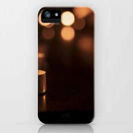 Candles iPhone Case
