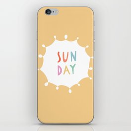 Sunday in Yellow iPhone Skin