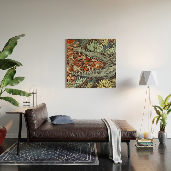 Flourish Wood Wall Art