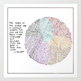 Tears of the World Art Print