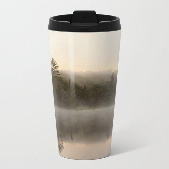 misty reflections Metal Travel Mug