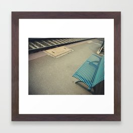 Futility: the quality of having no useful result. Framed Art Print