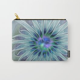 Floral Beauty, Fantasy Flower Carry-All Pouch