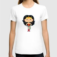 wonder T-shirts featuring Wonder by Sombras Blancas Art & Design