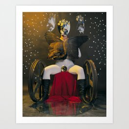 The Chariot Art Print