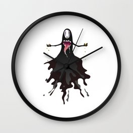 No Face Wall Clock