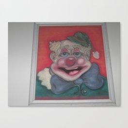 Happy The Clown Canvas Print