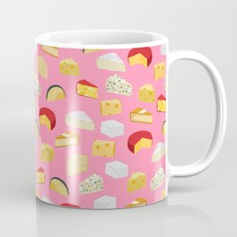 Cheese food pattern food fight apparel and gifts Coffee Mug
