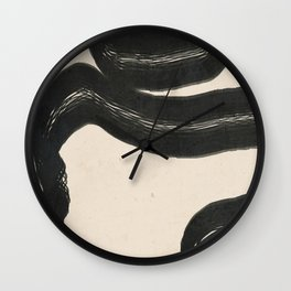 Minimal Abstract Art 15 Wall Clock