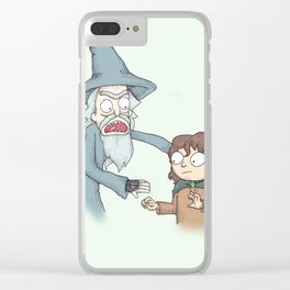 Schwift Of The Rings Clear iPhone Case