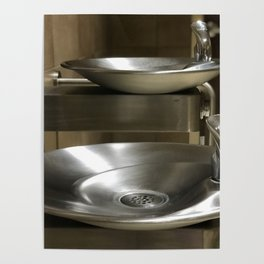 Water Fountains Aren't Segregated, Anymore: Why Are PEOPLE? Poster
