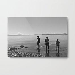 Lake Taupo Metal Print