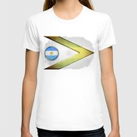 argentina T-shirts featuring Argentina by ilustrarte