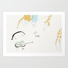 Play it again (ANALOG zine) Art Print
