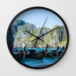 Phi Phi Islands Wall Clock
