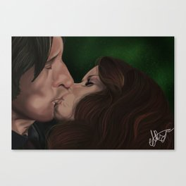 Tale As Old As Time Canvas Print