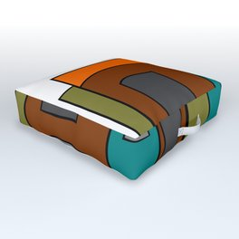 Creative Reading - Zine Page Graphics Outdoor Floor Cushion