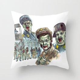 Hogan's Zombies Throw Pillow