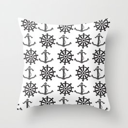 Sailor Life Throw Pillow