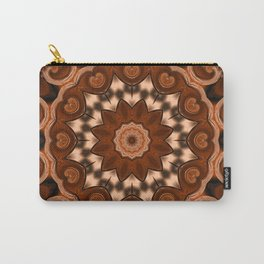 Copper kaleidoscope of colors II Carry-All Pouch