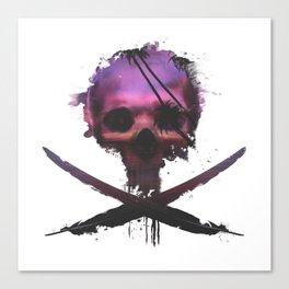 Purple Death Canvas Print