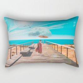 Distant Adventures Rectangular Pillow