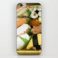 sushi iPhone & iPod Skins featuring SUSHI by Sara Ahlgren