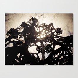 Sound Sculpture 01 Canvas Print