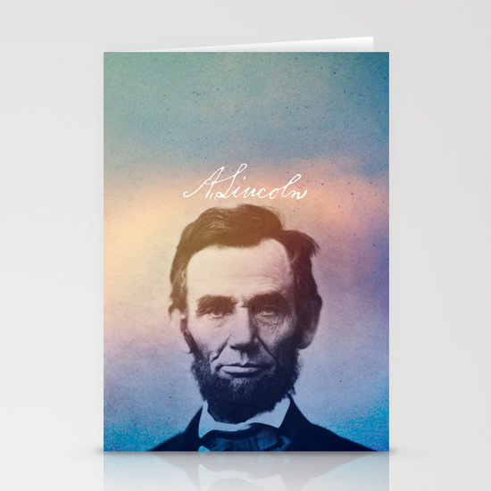 Stand Firm. Lincoln. 1809-1865. Stationery Cards