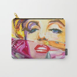 Legends - Ford Thunderbird and MarilynMonroe Carry-All Pouch