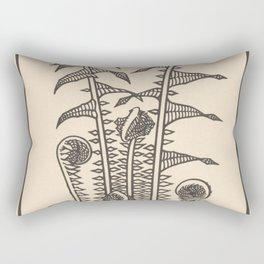 Nouveau Fiddleheads Rectangular Pillow