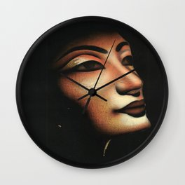 Queen collected from Egypt Wall Clock