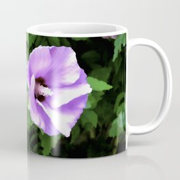 Mirrored Floral Coffee Mug