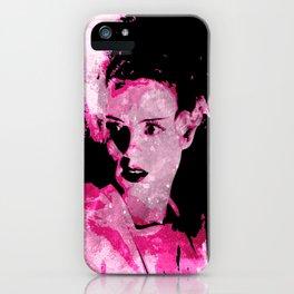 The Bride of Frankenstein iPhone Case