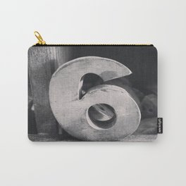 Number Crazy #6 Carry-All Pouch