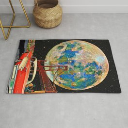Golden Gate to Moon Rug