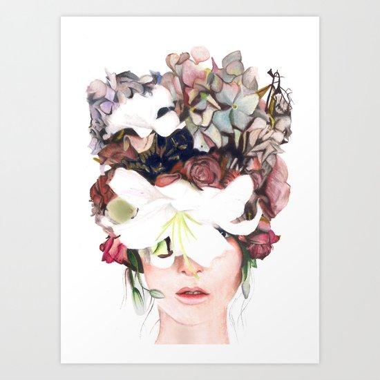 flowwerhead Art Print