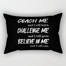 Team Work Spirit Job Awesome Team Player Gift Idea Rectangular Pillow