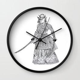 The Last Samurai Wall Clock