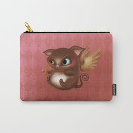 Cupid Kitty Carry-All Pouch