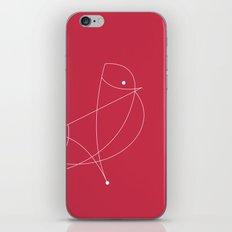 Contours: Cardinal (Line) iPhone & iPod Skin