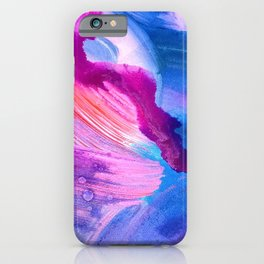 Danbury Abstract Watercolor Painting iPhone Case