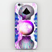 hamburger iPhone & iPod Skins featuring HAMBURGER by Riot Clothing