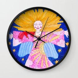 The Guardian Angel Wall Clock