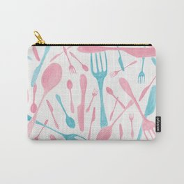 #71. FIONA (Forks & Knives) Carry-All Pouch