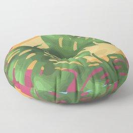 Tropical splendour Floor Pillow