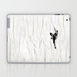 Woman Climbing a Wrinkle Laptop & iPad Skin