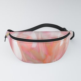 Pink Tulips Abstract Nature Spring Atmosphere Fanny Pack